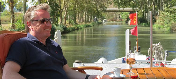 Athos luxury barge holiday canal du midi