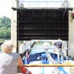 Coming out of the boatlift