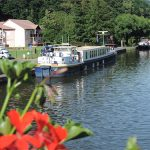 Moored at Lutzelbourg