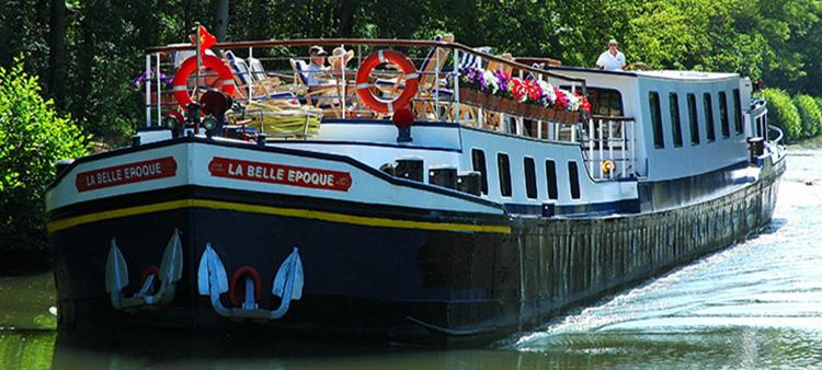 la belle epoque barge cruise france