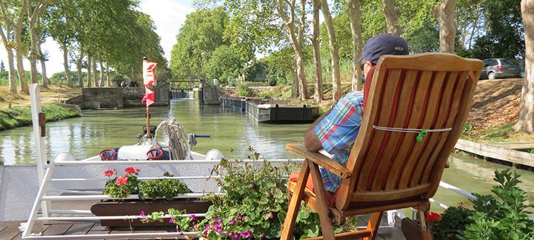 Athos barge cruise canal du midi