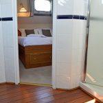 Spacious cabins