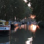 barge vacation canal du midi