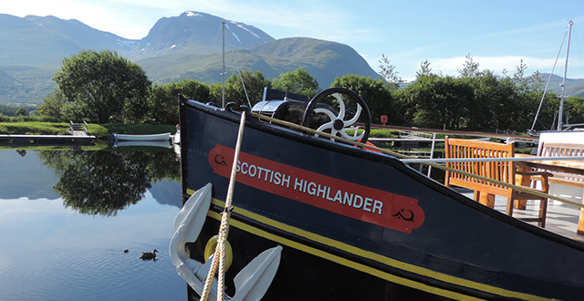 scottish highlander luxury hotel barge