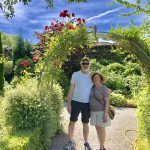 Beautiful gardens at Portumna Castle