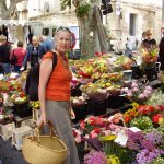 Colourful country markets
