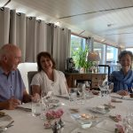 Gourmet dining on board Finesse