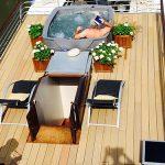 Delightful sun-filled deck