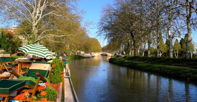 colibri luxury barge canal du midi