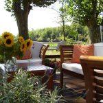 Beautiful sun-filled deck