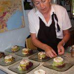 Superb cuisine courtesy of Liz!