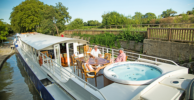 luxury hotel barge cruise Canal du Midi