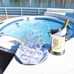 Relax in the jacuzzi!