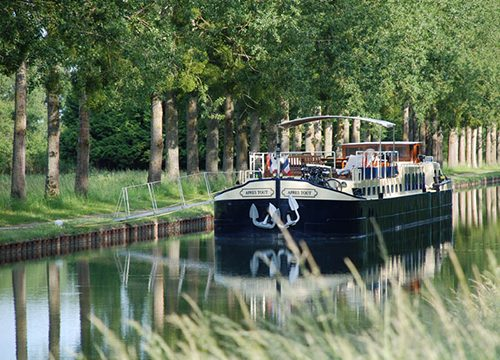 Luxury Canal Barge Cruise Burgundy