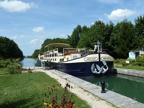 Luxury Cruise in Burgundy on Apres Tout - Toujours France
