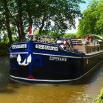 The most stunning barge on the canal - Esperance