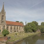 Church at Marlow Bridge