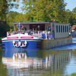 Idyllic cruising in Burgundy