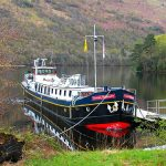 Moored in spectacular locations
