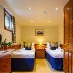 Twin bedded cabin