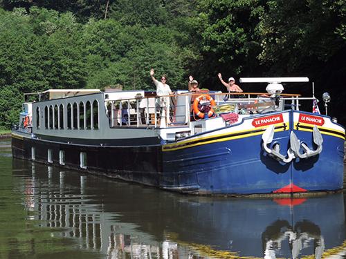 panache barge cruise