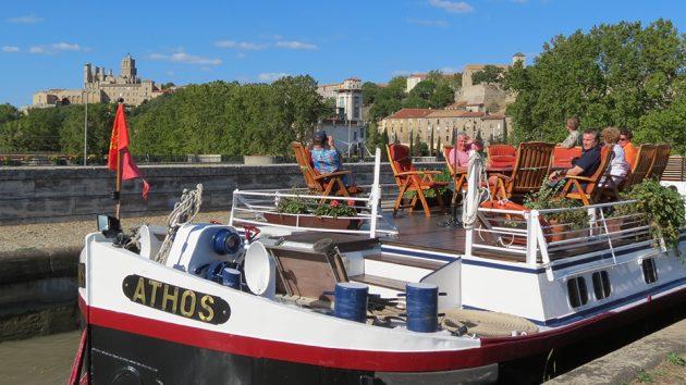 Athos luxury barge