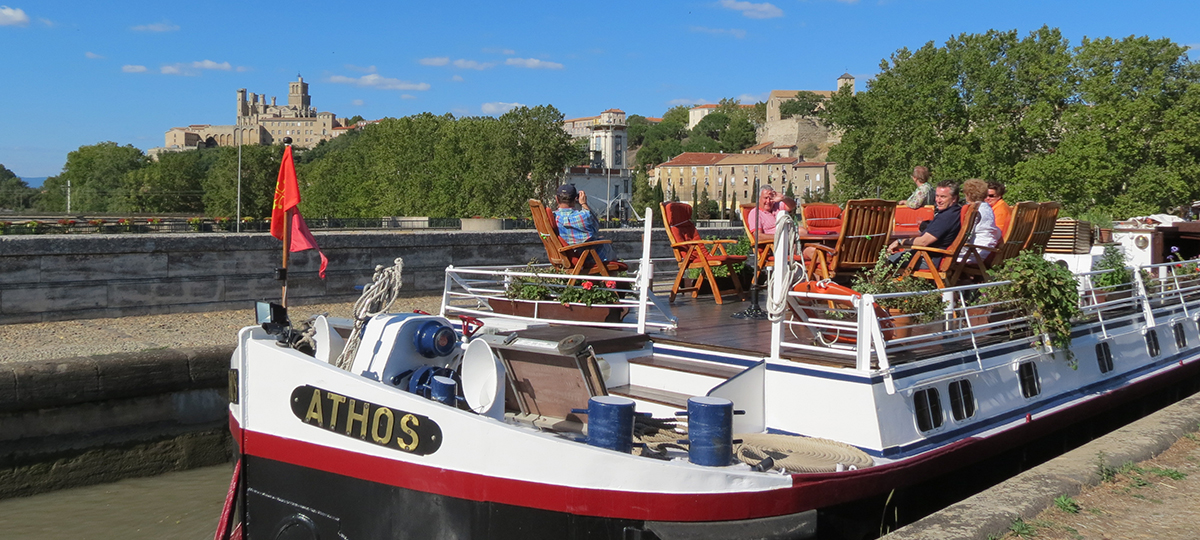 Athos luxury barge