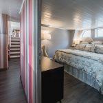 Lavishly appointed bedrooms
