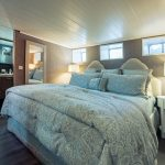 Lavishly appointed bedrooms